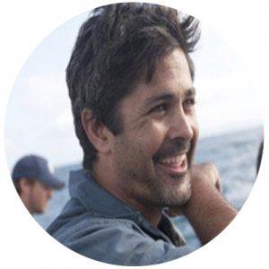 Documentary host and shark biologist Ryan Johnson